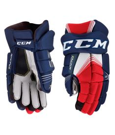 Hokejové rukavice CCM TACKS 5092 navy/red/white senior