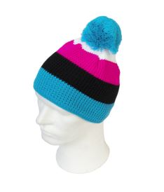 Čepice OXDOG COOL WINTER HAT turquoise/pink S/M