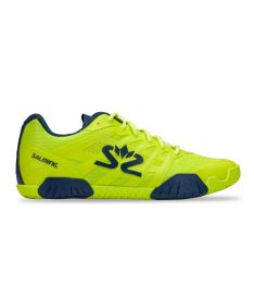 SALMING Hawk 2 Shoe Men Fluo Green/Navy