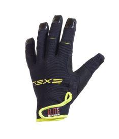 EXEL ELITE GOALIE GLOVES SHORT black - Brankařské rukavice