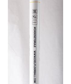 EXEL E-LITE WHITE 2.9 101 OVAL MB L - florbalová hůl