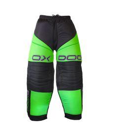 OXDOG VAPOR GOALIE PANTS junior black/green