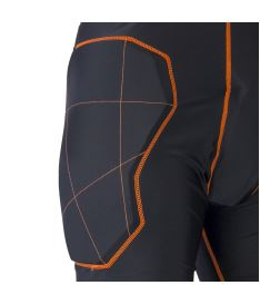 EXEL S100 PROTECTION SHORT black/orange M - Chrániče a vesty