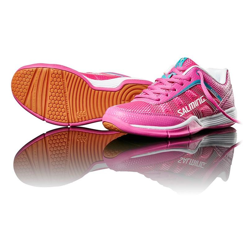 8ecd976e7c40e Florbalová sálová obuv SALMING Adder Women Pink