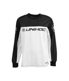 UNIHOC GOALIE SWEATER KEEPER black/white