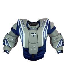 Brankářská vesta VAUGHN CHEST & ARMS VENTUS SLR PRO blue/silver/white senior
