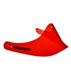 VAUGHN THROAT SHIELD LEXAN 7600 red