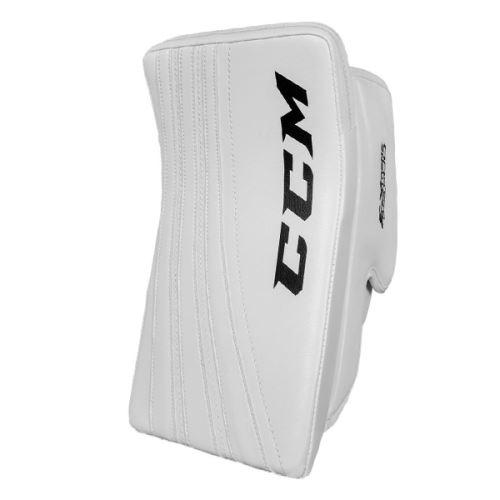 CCM BLOCKER E-FLEX 500 white senior - FR - Vyrážečky