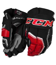 Hokejové rukavice CCM QUICKLITE 290 black/red/white senior - 14""