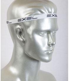 EXEL THIN HEADBAND ESSENTIALS - 2 pcs BLACK/WHITE - Čelenky