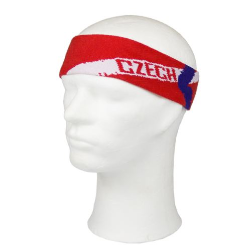 EXEL CZECH REP. HEADBAND RED