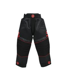 ZONE GOALIE PANTS PRO black/red