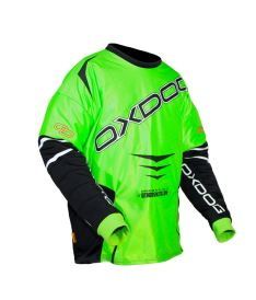 OXDOG GATE GOALIE SHIRT green/black  XL