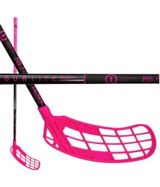 SALMING Q1 Tourlite Aero MS Edt Black/Pink 100 (111cm)