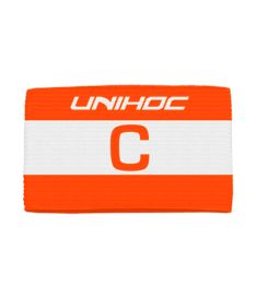UNIHOC CAPTAIN'S BAND SKIPPER red/white