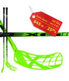 EXEL FPplayER 2.9 green 98 ROUND SB ´16  - florbalová hůl