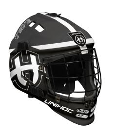 UNIHOC GOALIE MASK SHIELD black/white