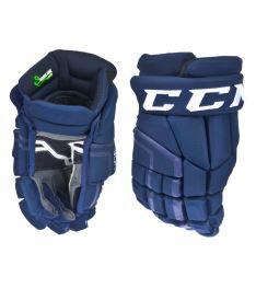 "Hokejové rukavice CCM 30K navy/white senior - 14"""