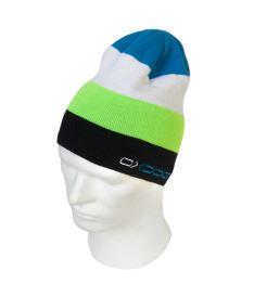 OXDOG JOY-2 WINTER HAT lime/blue S/M - Kšiltovky a čepice