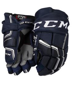 Hokejové rukavice CCM QUICKLITE 270 navy/white senior