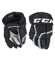Hokejové rukavice CCM QUICKLITE 250 black/white senior