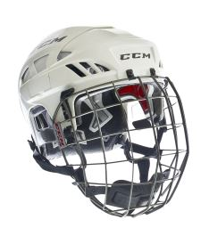 Hokejová helma CCM FITLITE 80 Combo SR white