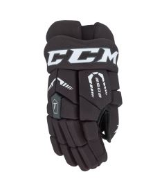 Hokejové rukavice CCM TACKS 2052 black/white junior - 12