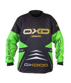 OXDOG VAPOR GOALIE SHIRT junior black/green