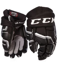 "Hokejové rukavice CCM QUICKLITE 290 black/white senior - 14"""