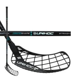 UNIHOC STICK EPIC Straight EDGE 26 black/turq