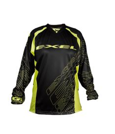 EXEL G1 GOALIE JERSEY #1 black/yellow  S*
