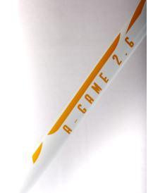 EXEL A-GAME WHITE-ORANGE 2.9 101 ROUND SB L - florbalová hůl