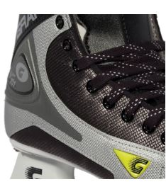 GRAF SKATES SUPER 101 black/silver - 36** - Brusle - komplety