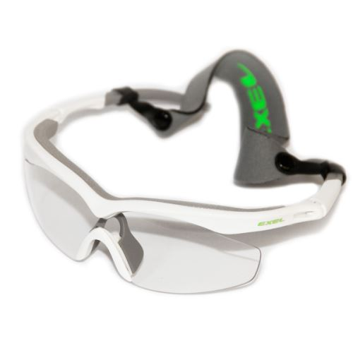 EXEL GOGGLES HURRICANE white/neon green senior
