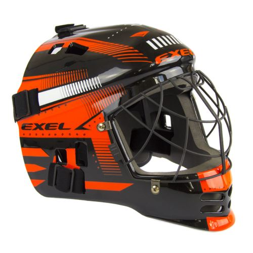 EXEL S60 HELMET junior black/orange