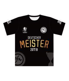 FREEZ JERSEY SUBLI MAN - MFBC MEISTERS - black/gold - M