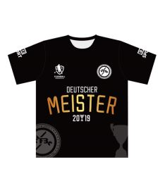 FREEZ JERSEY SUBLI MAN - MFBC MEISTERS - black/white - XXXL