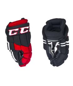Hokejové rukavice CCM 30K black/red/white senior - 14