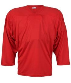 CCM JERSEY 10200 red junior - L/XL