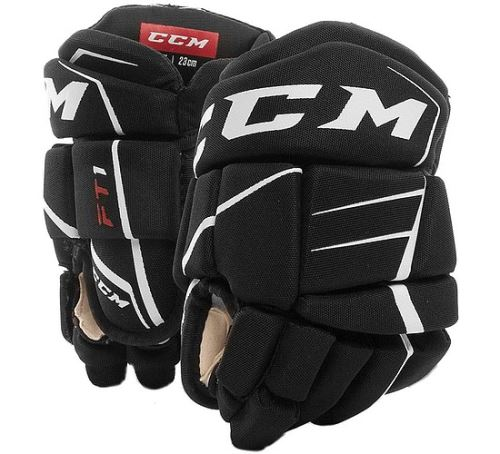 CCM HG JETSPEED FT1 black/white youth - 9
