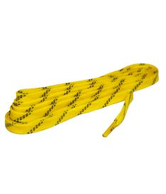 Tkaničky do bruslí GRAF LACES HOCKEY WAXED yellow 280cm