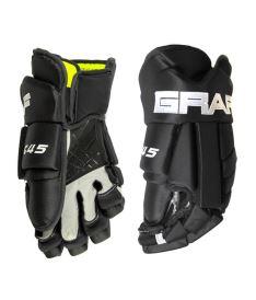 Hokejové rukavice GRAF G45 black senior