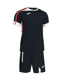 JOMA ROMA II SET BLACK-WHITE S/S