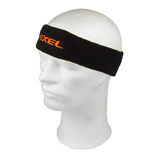 EXEL HEADBAND black/neon orange - Čelenky