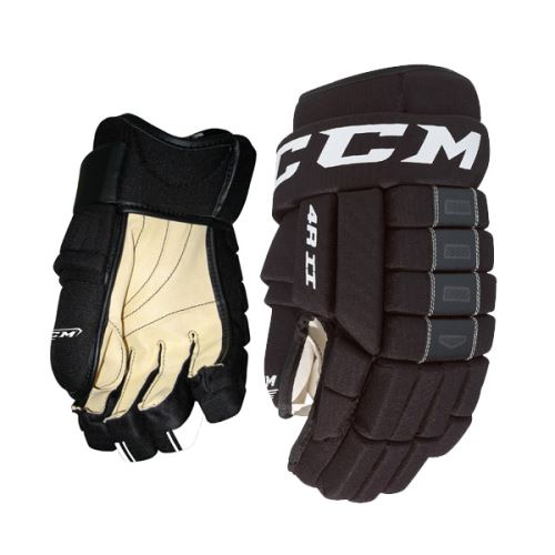 Hokejové rukavice CCM 4R III black junior