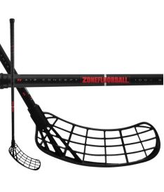 ZONE Stick MAKER Air SL 27 black/red 96cm