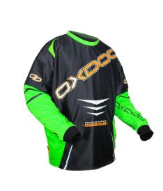 OXDOG GATE GOALIE SHIRT black/green  S