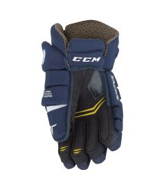 Hokejové rukavice CCM TACKS 6052 navy/white senior - 14