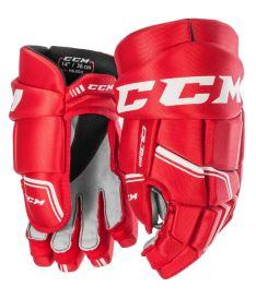 Hokejové rukavice CCM QUICKLITE 250 red/white junior