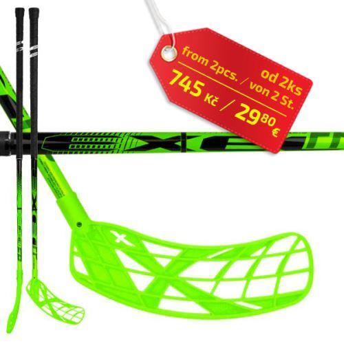 EXEL FPplayER 2.6 green 103 ROUND SB ´16  - florbalová hůl